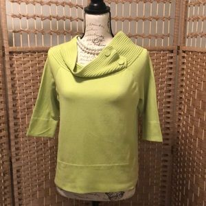 💋 Lime Green Summer Sweater 💋